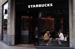 Second Starbucks at Bilbao (Iker Merodio   Photography) Tags: starbucks bilbao bizkaia biscay basque country coffee ricoh gr ii 2 street photography costumbrismo