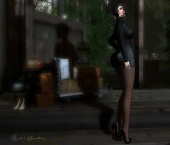 MOVING ON (Rachel Swallows) Tags: fashion leather saltandpepper secondlife reign sintiklia rhude genus maitreya freya hourglass glamaffair fishnets stockings
