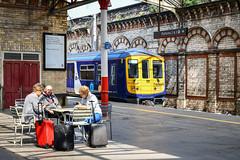 319734 at Crewe, platform 1 (robmcrorie) Tags: 319734 crewe platform 1 station buffet passengers table class 319 d850 nikon