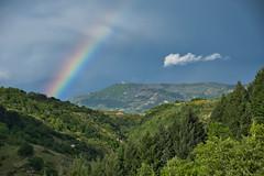 Arc en ciel (photosmoiata) Tags: arc en ciel sur la montagne