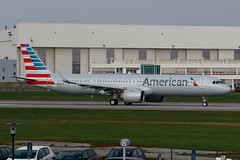 N401AN_A321N_XFW_29MAR19 (Plane Shots) Tags: a321neo americanairlines edhi jetliner xfw n401an