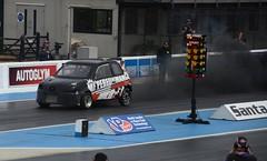 (Sam Tait) Tags: santa pod raceway england doorslammers race track vw volkswagen seat arosa diesel pd 20 19 tdi turbo soot clagg exhaust smoke black