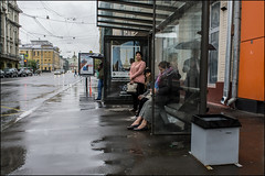 17drg0185 (dmitryzhkov) Tags: urban outdoor life human social public stranger photojournalism candid street dmitryryzhkov moscow russia streetphotography people city color colour badweather