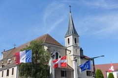Eglise Saint-François de Sales @ Old Town @ Annecy (*_*) Tags: may 2019 printemps spring morning matin annecy 74 hautesavoie france europe savoie city oldtown vieilannecy vieilleville eglise church christian catholic