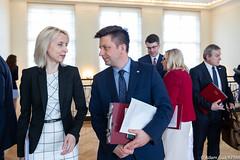 Posiedzenie Rady Ministrów (Kancelaria Premiera) Tags: premier mateuszmorawiecki kprm posiedzenierządu posiedzenieradyministrów radaministrów