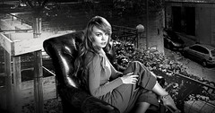 (horlo) Tags: nb bw blackandwhite noiretblanc monochrome film movies cinema portrait fonddécran wallpaper glamour actress vintage woman femme anastasiaschlegova collage og250 innamoramento