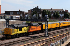 37175, Portsmouth & Southsea, July 3rd 2018 (Southsea_Matt) Tags: 37175 d6875 class37 englishelectric type3 colasrail train railway railroad transport vehicle july 2018 summer unitedkingdom england hampshire portsmouthsouthsea jacobsladder diesellocomotive canon 80d