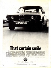 1972 BMW Aussie Original Magazine Advertisement (Darren Marlow) Tags: 1 2 7 9 19 72 1972 b m w bmw c car cool collectible collectors classic a automobile v vehicle g germany german e european europe 70s