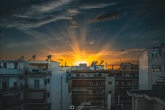 Monday Afternoons (EvNikolas Photography) Tags: volos city travel europe vacation greece buildings sun sunset sky afternoon nikon nikond3200 photography nikolasevaggelinos evnikolasphotography