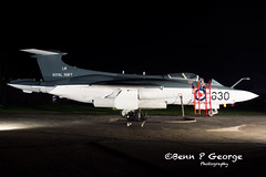 BUCCANNER-S1-LM-630-XN964-9-3-19-NEWARK-AIR-MUSEUM-(10) (Benn P George Photography) Tags: winthorpe newarkairmuseum 9319 bennpgeorgephotography nightshoot buccanner xn964 royalnavy fighter fastjet photoshoot nikon nikond7100 d7100 nikon18105vr newark notts