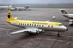 Vickers Viscount 806 G-AOYO British Airways (Northeast) (EI-DTG) Tags: dublinairport eidw 09aug1974 viscount gaoyo britishairways northeast turboprop