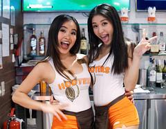 Happy Hooters - Bangkok (Asiacamera) Tags: bangkok thailand asiacamera sexy thai girl model hooters braces