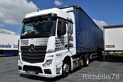 Add Watermark201905210111 (3) (richellis1978) Tags: truck lorry haulage transport logistics cannock mercedes benz actros mp4 trs wm65nme