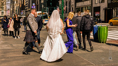 Americans (Greater New York), Manhattan, candid, #15, 3-2019 (Vlad Meytin, vladsm.com) (Instagram: vlad.meytin) Tags: americans greaternewyork khimporiumco manhattan meytin newyorkcity usa vladmeytin bride candid casual city daytodaylife faces irishkilt midtown outdoor people person photography pictures portrait portraits streetlife streetphotography streetscene streets urban vladsm vladsmcom weddingdress newyork unitedstatesofamerica