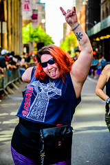 DanceParade2019-3(NYC) (bigbuddy1988) Tags: people portrait photography nikon d610 city new digital manhattan usa nyc newyork festival parade art woman happy outside
