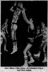 1974 - Bruce Jennings basketball - South Bend Tribune - 24 Jan 1974