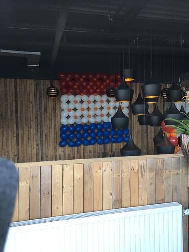 Ballonnenwand Koningsdag Watertuin Spijkenisse