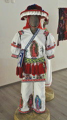 Traje Huichol Clothing Jalisco Mexico (Teyacapan) Tags: huichol wixarika trajes mexico jalisco textiles ropa clothing museum guadalupe