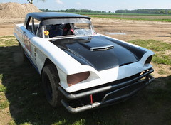 Ford Thunderbird Dirt Track Racer 1958 -1- (Zappadong) Tags: