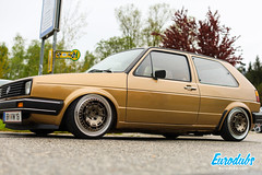 "Split wheels VW Golf MK2 • <a style=""font-size:0.8em;"" href=""http://www.flickr.com/photos/54523206@N03/47901065031/"" target=""_blank"">View on Flickr</a>"