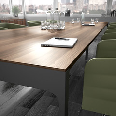 Lance-siena-nogal-antracita-34 (Ekipoffice) Tags: ofifran officefurniture lance ekipoffice mobiliarioescritorio secretarias mesas