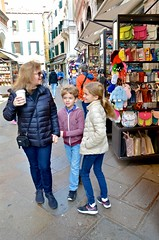 Sue & The Kids In Venice (Joe Shlabotnik) Tags: violet everett 2019 italia april2019 venezia proudparents venice italy sue afsdxvrzoomnikkor18105mmf3556ged