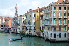 View From The Rialto Bridge (Joe Shlabotnik) Tags: italy rialto italia april2019 gondola venezia 2019 venice grandcanal canal afsdxvrzoomnikkor18105mmf3556ged