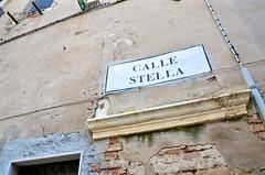 Calle Stella (Joe Shlabotnik) Tags: sign 2019 italia april2019 venezia venice italy afsdxvrzoomnikkor18105mmf3556ged