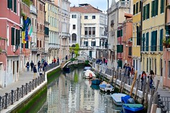 Rio Marin (Joe Shlabotnik) Tags: 2019 italia april2019 venezia canal venice italy bridge afsdxvrzoomnikkor18105mmf3556ged