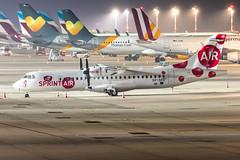 SP-SPE Sprint Air Aerospatiale ATR-72-202 (buchroeder.paul) Tags: eddl dus dusseldorf international airport germany europe ground night spspe sprint air aerospatiale atr72202