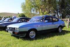 Ford Capri 2.8 Injection A366NGS (Andrew 2.8i) Tags: kingdom united uk evesham show meet club international cci sports sportscar classic classics car cars capri ford coupe hatch liftback hatchback v6 cologne euro european fordofgermany 2800 mark 3 iii mk mk3 injection 28