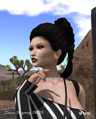 The Limo Broke Down, But I Still Look Great (Diana Myeong) Tags: secondlife copperriver outdoors fashion laq maitreya ikon tukinowaguma yasum bootysbeauty zibska livia realevil