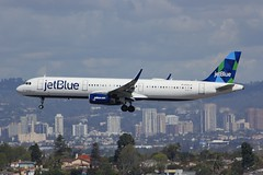 A321 N986JB Los Angeles 28.03.19 (jonf45 - 5 million views -Thank you) Tags: airliner civil aircraft jet plane flight aviation lax los angeles international airport klax jetblue airways airbus a321 n986jt