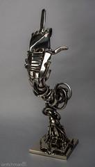 I Love You 2016 (ianfichman) Tags: art artist artwork fineart sculpture sculptor photography photographer gallery museum artcollector people human metalart metalsculpture metalwork welding robot metal beautiful