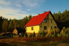 2012-10-02 Loryniec (143) (aknad0) Tags: polska loryniec krajobraz wieś budynki drzewa
