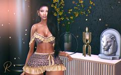 Rawr (RoxxyPink) Tags: roxxypink roxxy pink fashionuschies fashion uschies fashionblog blog blogger blogging blogspot secondlifeblog secondlifeblogger secondlife second life 2ndlife sl virtuallife virtualworld world virtual meshhead head genus meshhair hair stealthic mesh meshbody body maitreya black lion rawr shopping event fair decoration decor deco madras equal10 equal 10 lefilcasse le fil casse sexy babe girl leo leopard outfit shape shapes plastic doll dolls