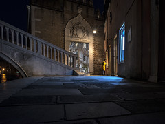 Night Wanderings (Mike | MP-P) Tags: travel adventure street streetphotography shadows night nightshot handheld lightandshadow pentax pentaxian 20mm wideangle venice italy europe tuesday throwback