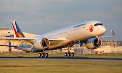 RP-C3507 - Airbus A350-941 - LHR (Seán Noel O'Connell) Tags: philippineairlines rpc3507 airbus a350941 a350 a359 heathrowairport heathrow lhr egll 27r mnl rpll pr720 pal720 lovebus aviation avgeek aviationphotography planespotting