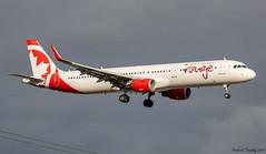 Air Canada Rouge / Airbus A321-211 / C-GHQG / YQB / Ex WOW air TF-MOM (tremblayfrederick98) Tags: wowair airbus aircanadarouge rouge airlines airplane airbusa321 a321