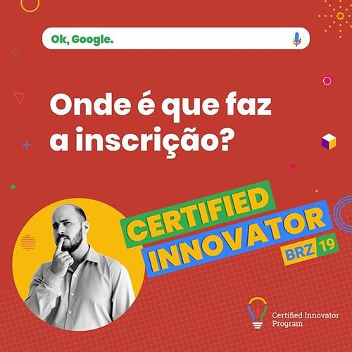 O link para realizar a inscrição e um super treinamento sobre como se preparar para todas as certificações Google For Education você acessa no website do Google Teacher Center. Para 2019 o processo de inscrição está sendo realizado através de uma platafor