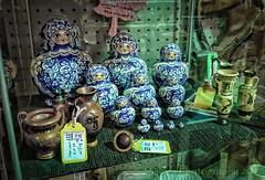 Nesting Dolls (13skies) Tags: matryoshkadolls nestingdolls wednesday singleshothdr raw antiques sitting fleamarket