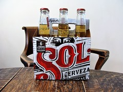 Sol (knightbefore_99) Tags: beer cerveza pivo ale craft tasty malt drink hops best great sol mexico mexican six pack lager light tropical
