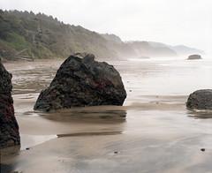 Arcadia Beach mist (Kent C.) Tags: mamiyarb67pros film filmphotography kodakportra160 mediumformat 6x7 120film