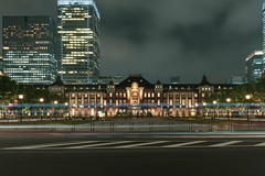 Tokyo Station Long Exposure (separatesunsets) Tags: 21stmay2019 asia downpour holiday2019 japan may2019 rainy tokyo tourist warm