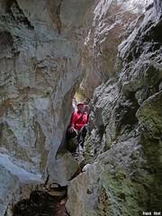 Faille de gauche de  la côte Chaude - Salins Les Bains - Jura (inedit) (francky25) Tags: faille de gauche la côte chaude salins les bains jura inedit karst franchecomté prospection aventure nature sauvage