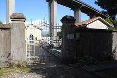 Bassone cemetery (Elizabeth Almlie) Tags: italy toscana tuscany vignola bassone cemetery cimitero