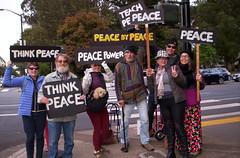 100_2798 (Haight Ashbury Neighborhood Peace Vigil) Tags: haight ashbury peace vigil iraq iran afghanistan syria venezuela war moratorium golden gate park panhandle san francisco may 2019