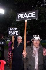 100_2804 (Haight Ashbury Neighborhood Peace Vigil) Tags: haight ashbury peace vigil iraq iran afghanistan syria venezuela war moratorium golden gate park panhandle san francisco may 2019