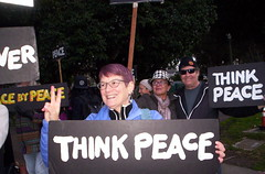 100_2802 (Haight Ashbury Neighborhood Peace Vigil) Tags: haight ashbury peace vigil iraq iran afghanistan syria venezuela war moratorium golden gate park panhandle san francisco may 2019