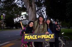 100_2805 (Haight Ashbury Neighborhood Peace Vigil) Tags: haight ashbury peace vigil iraq iran afghanistan syria venezuela war moratorium golden gate park panhandle san francisco may 2019